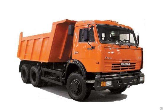 Услуги самосвала КАМАЗ г/п 15 тонн