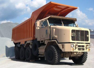 Самосвал г_п 27 тонн