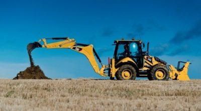 Услуги экскаватора-погрузчика Caterpillar 434F