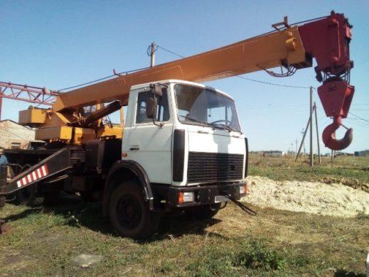 Аренда автокрана Ивановец 16 тонн