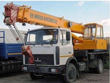 Услуги автокрана 16 тонн - Ивановец